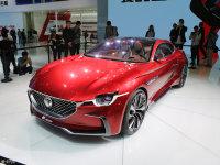 2017上海车展 名爵E-motion概念车静评