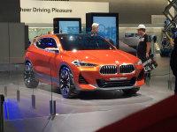 上海车展探馆:宝马X2 Coupe概念车现身