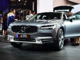 2017上海车展:沃尔沃V90 CC售47.98万起