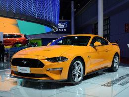 2017上海车展 福特新款Mustang实车亮相