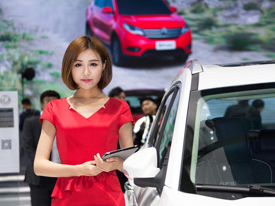#上海车展零距离#第一次进车展的作业