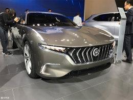 2017上海车展 正道H600概念车正式发布