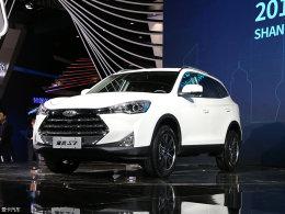 2017上海车展:瑞风S7预售10.98万元起