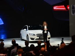 2017上海车展 林肯MKZ H混动正式上市