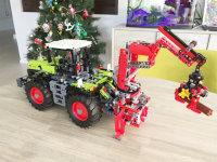 LEGO42054---克拉斯拖拉机