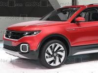 大众全新小型SUV效果图 2018年正式投产