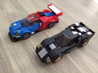 冠军产品,乐高75881福特GT和GT40
