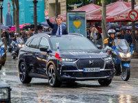39岁的法国新任总统马克龙坐什么车?