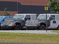Jeep牧马人双门版谍照曝光 3种动力可选