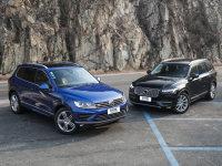 爱卡SUV专业测试 大众途锐VS沃尔沃XC90