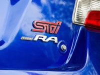 斯巴鲁WRX STI Type RA预告图 即将发布