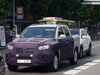 双龙Q200皮卡车型谍照 或将于明年发布