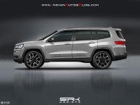 旗舰车型归来 Jeep新7座SUV专利图曝光