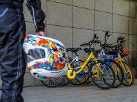 我们帮你试驾了几款F1…配色的共享单车