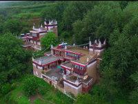 丹巴藏寨美人谷的早晨