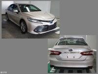 广汽丰田第八代凯美瑞申报图 11月首发