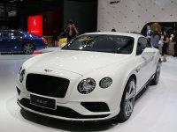成都车展 欧陆GT V8 S 炫黑版正式发布