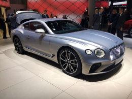 法兰克福车展:宾利全新欧陆GT正式亮相