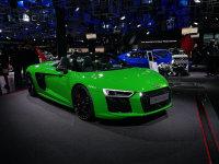 法兰克福车展:奥迪新R8 V10 Plus发布