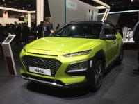 法兰克福车展:现代全新SUV KONA发布