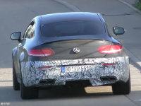 奔驰新AMG C63 Coupe谍照 搭4.0T发动机