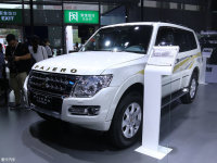 2018款三菱帕杰罗北京上市 售36.98万起