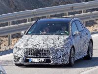 新款梅赛德斯AMG A45谍照 有望明年亮相