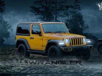 Jeep全新牧马人双门版假想图 11月首发