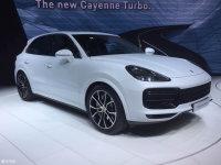 法兰克福车展:保时捷新Cayenne Turbo