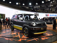 铃木XBEE东京车展发布 定位小型SUV车型