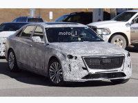 新款凯迪拉克CT6谍照 有望北美车展发布
