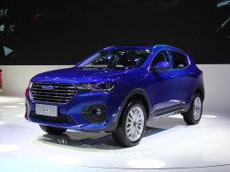 2017广州车展 哈弗H4蓝/红标版静态评测