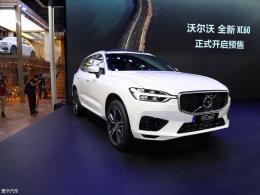 2017广州车展  沃尔沃全新XC60对比Q5