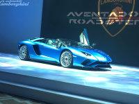 2017广州车展:Aventador S敞篷版亮相