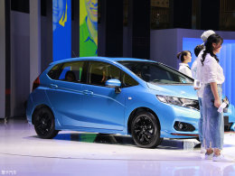 2017广州车展:本田新款飞度中国首发