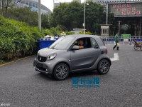 车展探馆:smart fortwo灰引力特别版
