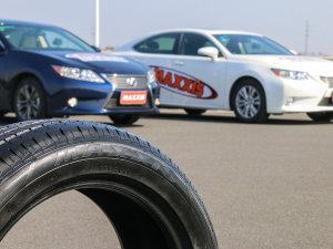 玛吉斯测试场试玛吉斯MS1轮胎