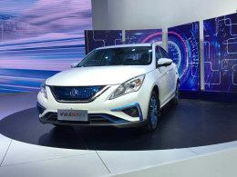 广州车展 景逸S50 EV售18.85万-20.25万