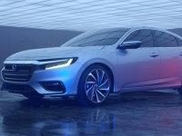 本田全新Insight原型车预告图 焕然一新