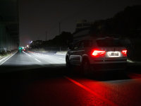 X-勒克斯 柯迪亚克LED大灯灯组照明测试