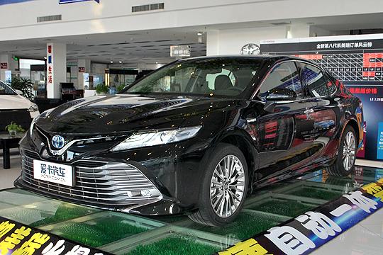 爱卡实拍广汽丰田凯美瑞双擎
