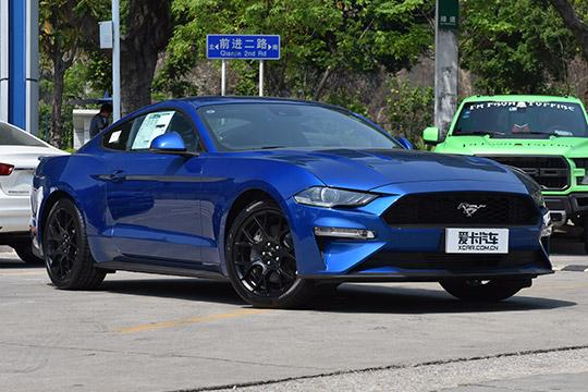 眼神犀利 传动升级 拍2018款福特Mustang