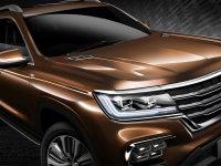 荣威全新SUV定名荣威RX8 新IS平台打造