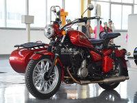 行驶品质提升 试驾全新长江750摩托车