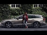 全新沃尔沃V60官图曝光 将2月21日发布