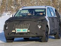现代全新SUV谍照曝光 采用8座布局设计