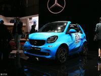 2018日内瓦车展 smart EQ fortwo静评