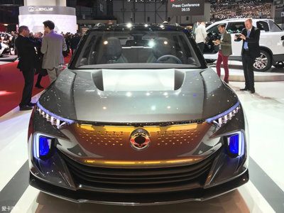 全新概念电动车 韩国双龙E-SIV技术解析