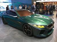 日内瓦:宝马全新8系Gran Coupe概念车