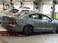 沃尔沃新一代S60实车首度曝光 夏季首发